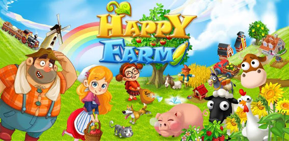 Игра Happy Farm на андроид и компьютер