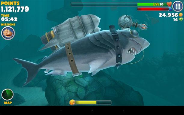 скачать игру бесплатно на компьютер hungry shark evolution
