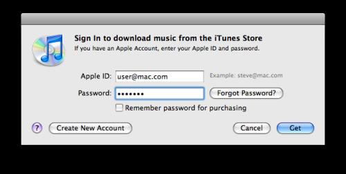 Регистрация ID в iTunes