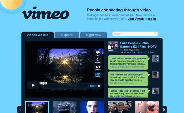 video vimeo chrome