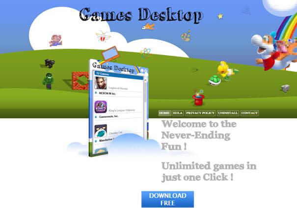 Обзор программы Games Desktop
