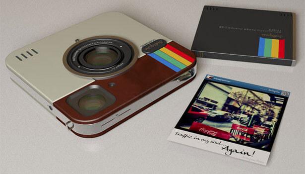 Instagram Socialmatic Camera Polaroid