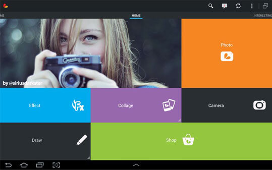 Фотошоп Picsart для компьютера доступен с Bluestacks