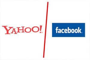 Поисковая система Yahoo, иск против Facebook