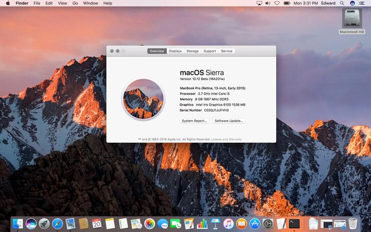 macOS Sierra: новые возможности преемницы OS X