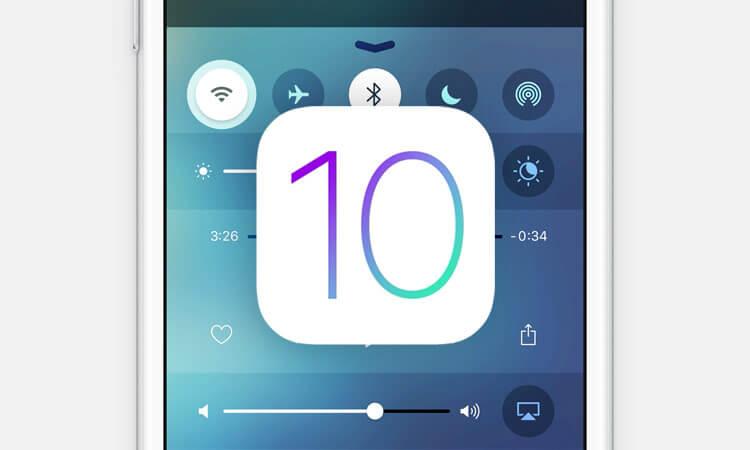 iOS 10 позволит удалить предустановленные приложения
