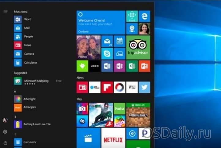 Будущие новшества Windows 10: неназванные Microsoft функции обновления Creators Update