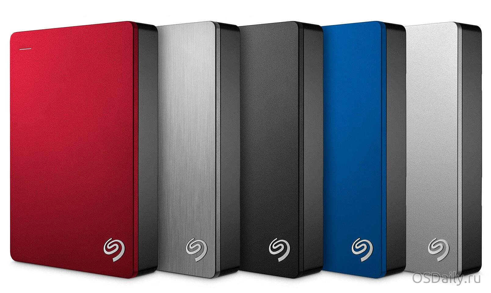 Компания Seagate выпускает портативный жесткий диск на 5 ТБ