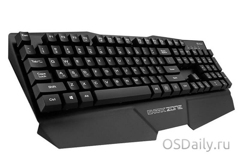 Shark Zone K15 – новая геймерская клавиатура