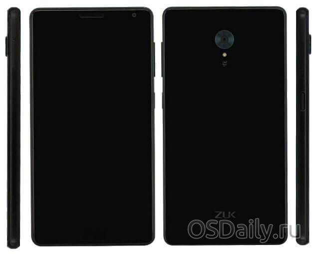 Смартфон ZUK с 6Гб оперативной памяти может дебютировать в этом месяце