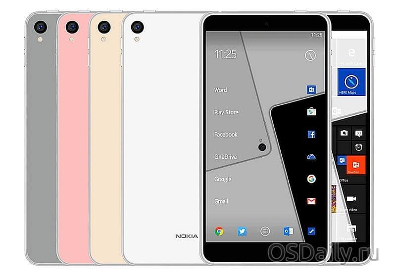 Nokia D1C цена смартфона просочилась в интернет и возможно будет начинаться от 150$