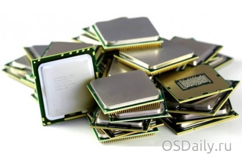 Выбираем производительный процессор по результатам теста PassMark