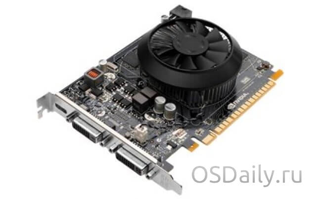 Характеристики NVIDIA GeForce GTX 740