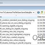 Настройка диалога открытия/сохранения файла в Windows