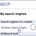 Как создать свой собственный поисковый движок Google?
