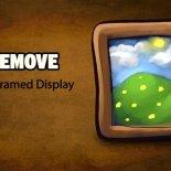 Как удалить Framed Display